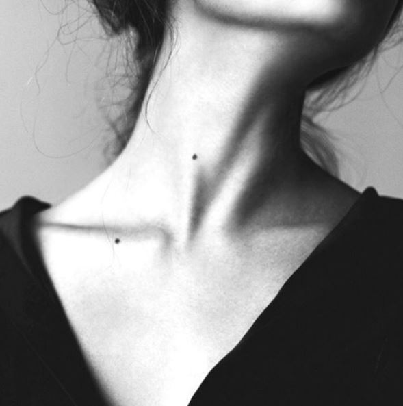 It's not just the face – the neck, décolletage, and hands tell all!